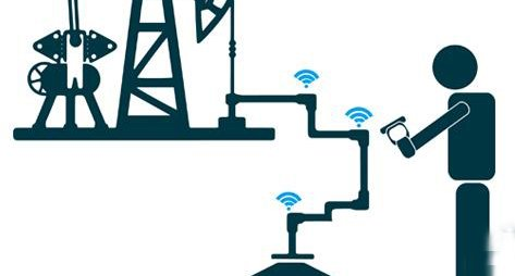 Oil pipeline inspection with RFID PDA